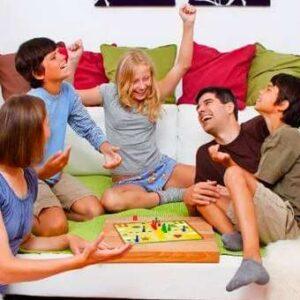 Emoción y juego Familias que juegan