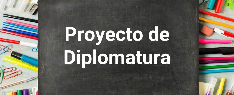 Proyecto de Diplomatura